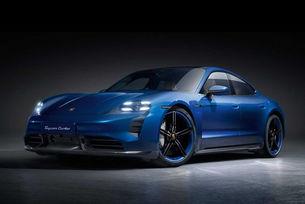 Карбонов пакет SportDesign за Porsche Taycan