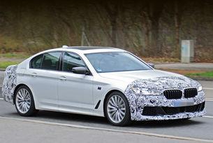 Обновеното BMW Серия 5 на финални тестове
