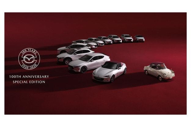 Mazda чества 100 години със специални издания