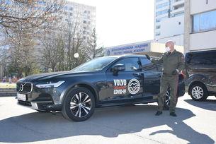 Volvo и МОТО-ПФОЕ с помощ в борбата срещу COVID-19