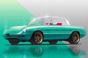 Очакваме Alfa Romeo Spider от Garage Italia