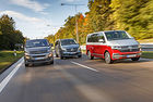 VW Multivan, Mercedes V 300d и Opel Zafira: Дълга служба