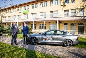 Volvo и МОТО-ПФОЕ продължават да помагат