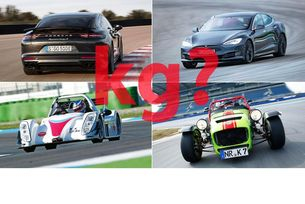 Колко тежат спортните автомобили?