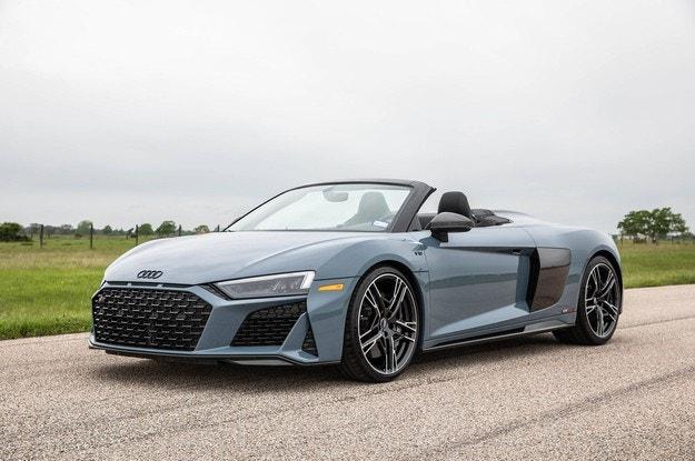 Ателието Hennessey поставя турбо на Audi R8