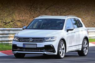 Volkswagen Tiguan R придоби окончателен вид