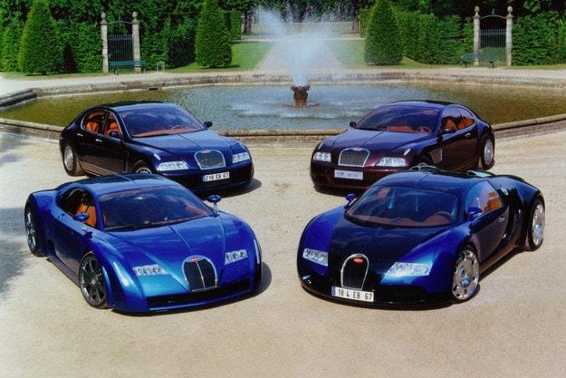 Bugatti Veyron чества своята 15-годишнина