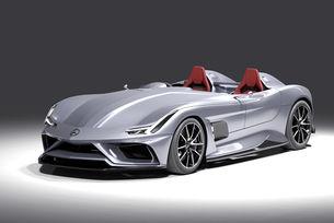 Mercedes AMG GT Silver Echo в чест на сър Стърлинг Мос