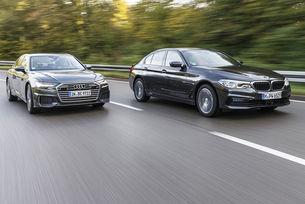 Audi A6 45 TFSI и BMW 530i