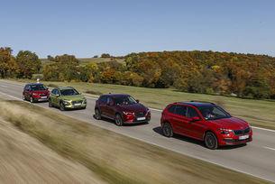Hyundai Kona, Mazda CX-3, Opel Crossland X, Skoda Kamiq