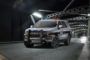 Chevrolet Tahoe облече полицейска униформа 