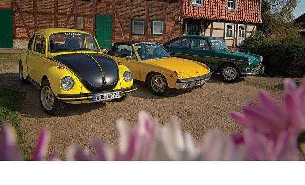 VW 1600, VW 1303 S, VW-Porsche 914/6: 3 порции чист въздух