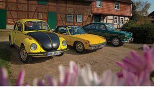 VW 1600, VW 1303 S и VW-Porsche 914/6