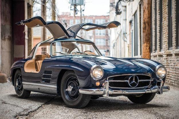 Новият Mercedes-Benz SL с пропорции от 50-те години