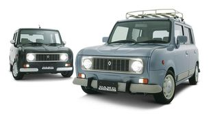 Damd Styling Effect превръщат Suzuki Alto Lapin в Renault 4