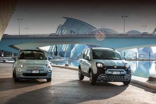 Хибридите Fiat 500 и Panda с ултравиолетово осветление