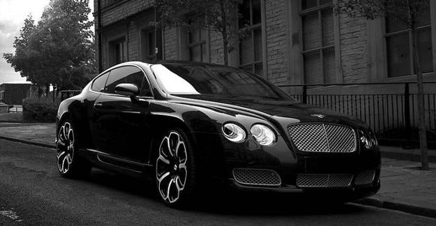 Project Kahn Bentley Continental GTS Black Edition