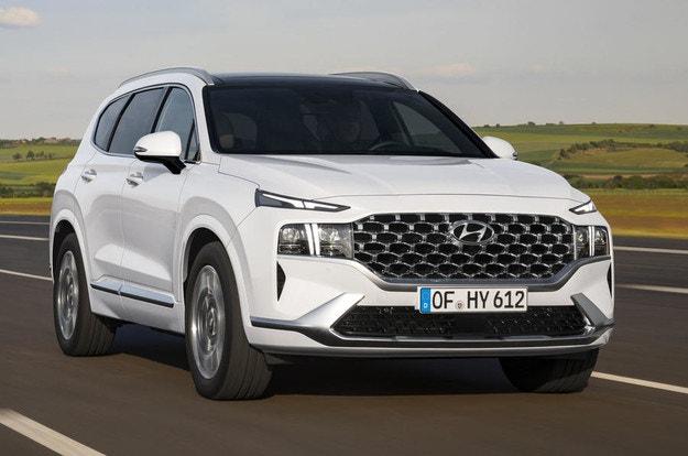 Hyundai разсекрети обновения Santa Fe