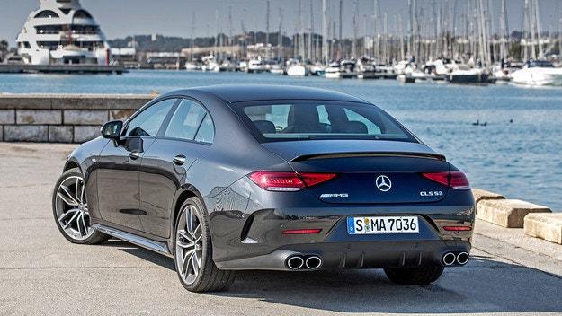 Mercedes CLS получи подобрено оборудване