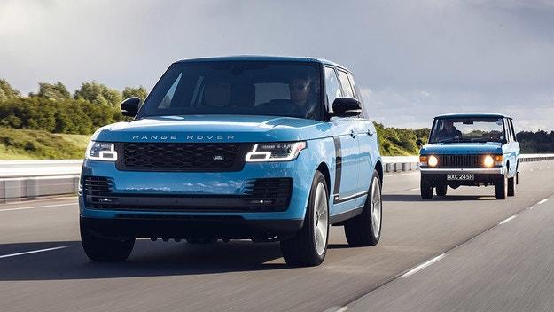 Range Rover Fifty изненадва с цветове от миналото