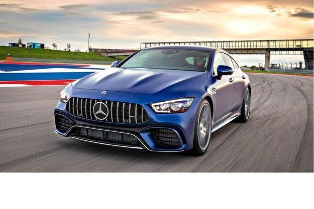 Mercedes-AMG GT Coupé, 4 врати: