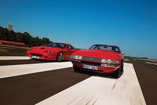 Ferrari 365 GTB/4 и 575 M Maranello