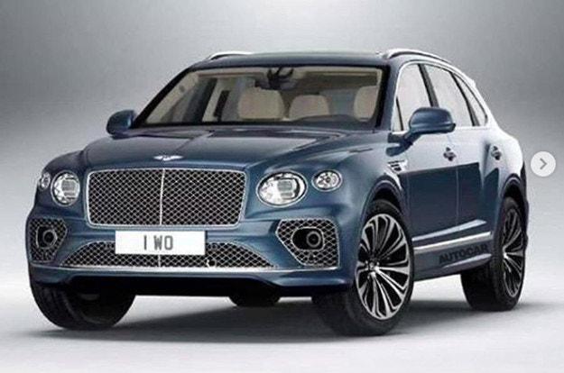 Разсекретиха дизайна на обновения Bentley Bentayga