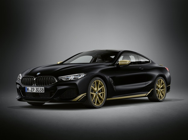 BMW 8 Golden Thunder ще се появи през септември