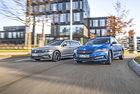 Skoda Superb Combi и VW Passat Variant: Дуел между братя