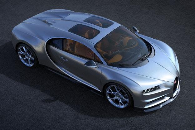 В процес на разработване е Bugatti Chiron Roadster