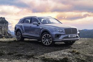 Bentley Bentayga премина през обновяване