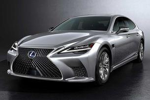 Lexus разкри обновения  седан LS