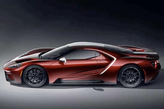 Предлагат нови цветове за Ford GT 2021