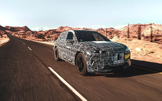 BMW разкрива тайния електрически кросоувър