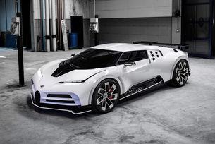 Кристиано Роналдо си подари Bugatti Centodieci