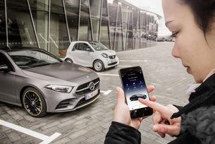 Новото приложение Mercedes me е вече на пазара