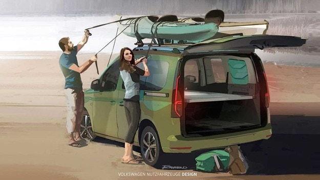 Volkswagen Caddy ще се преобрази в кемпер