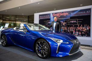 Продадоха първия Lexus LC 500 за 2 млн. USD