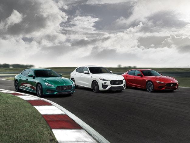 Trofeo: Най-мощната колекция Maserati