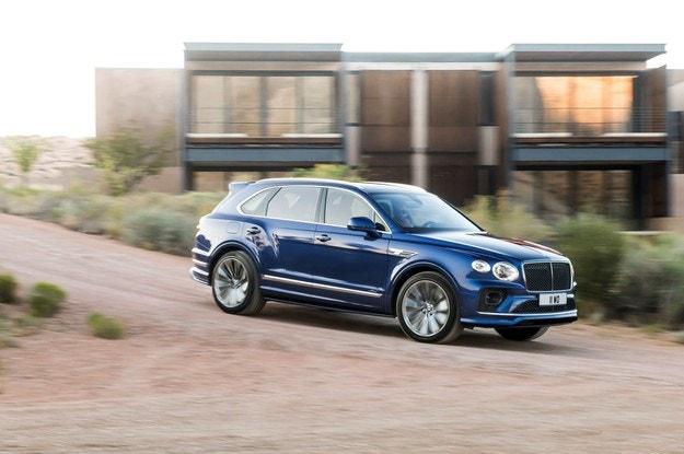 Представиха обновения Bentley Bentayga Speed