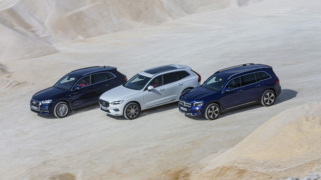 Mercedes GLB, Audi Q5, Volvo XC60