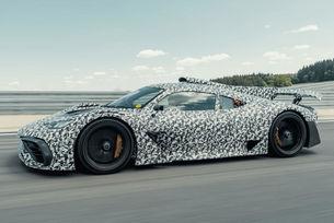 Предсерийният Mercedes-AMG One тръгна на тестове