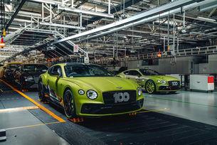 В производство е Bentley Continental GT Pikes Peak