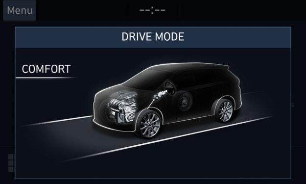 Всичко за Terrain Mode Selector в Hyundai Santa Fe