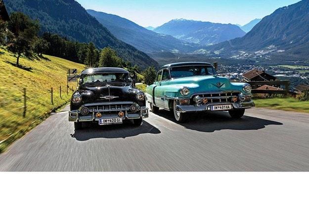 Chevrolet Bel Air и Cadillac Series 62