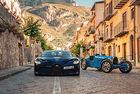 Bugatti Divo и Type 35 заедно на Targa Florio