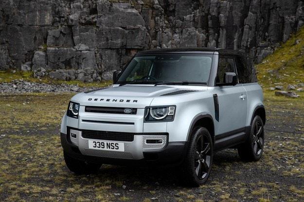 Land Rover Defender с нов дизелв и електромотор