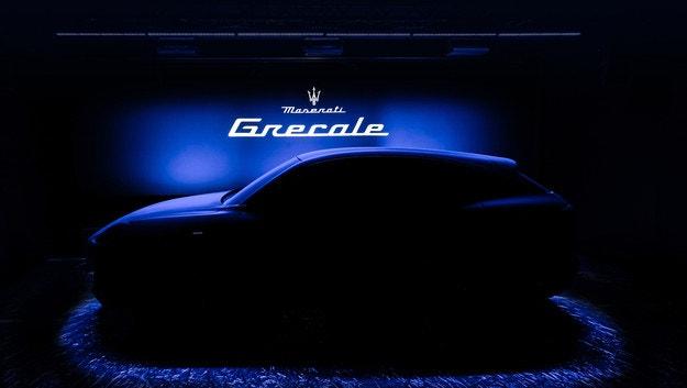 Кросоувърът Maserati Grecale за първи път на тийзър