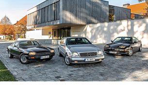 BMW 850i, Jaguar XJ-S, Mercedes S 600 Coupé