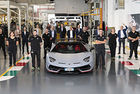 Lamborghini: 10 000 пъти Aventador